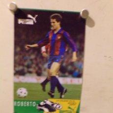 Coleccionismo deportivo: CARTEL POSTER FUTBOL CLUB BARCELONA PUMA. Lote 227633407