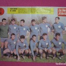 Coleccionismo deportivo: CARTEL DE FUTBOL EQUIPO CLUB MARINO DE LUANCO. ASTURIAS. Lote 217575146