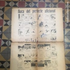 Coleccionismo deportivo: FÚTBOL- ANTIGUA AUCA 1924 - AUCA DEL PERFECTE AFICIONAT AUTOR VALENTÍ CASTANYS 69X51 CM. FALTA DE. Lote 221673488