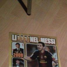 Coleccionismo deportivo: POSTER LIONEL MESSI BALON DE ORO 2012 - REVISTA JUGON - FC BARCELONA. Lote 222286272