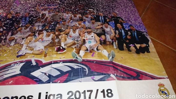 Coleccionismo deportivo: Super poster de 835x59cm y revista,de fútbol real Madrid, campeones liga 2017/18 - Foto 2 - 222381368