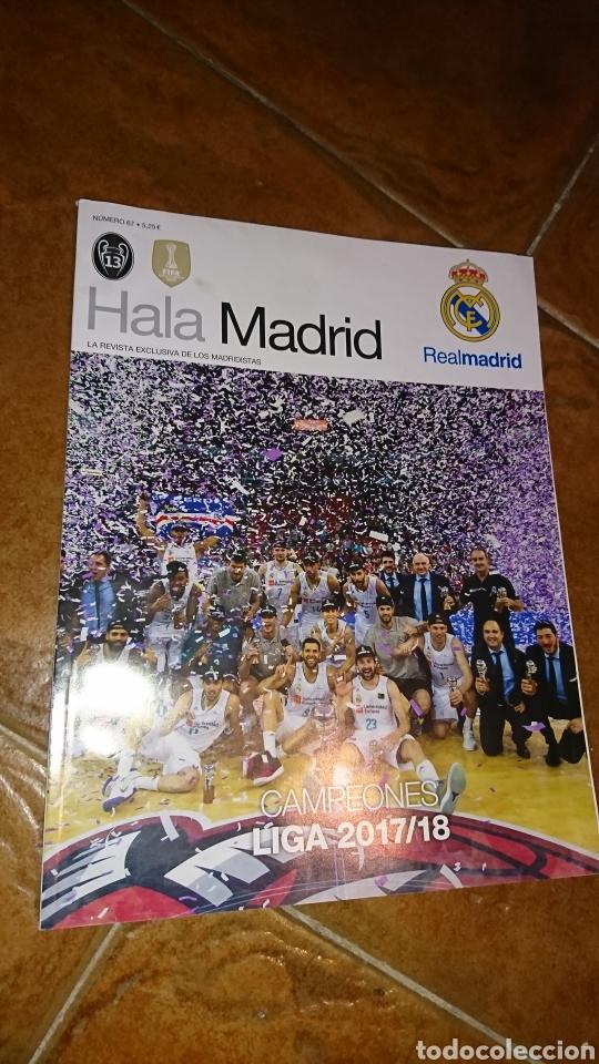Coleccionismo deportivo: Super poster de 835x59cm y revista,de fútbol real Madrid, campeones liga 2017/18 - Foto 4 - 222381368
