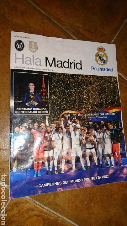 Coleccionismo deportivo: Super póster de 835x59cm,y revistade fútbol real Madrid, campeones mundial de clubes 2017 - Foto 5 - 222380552