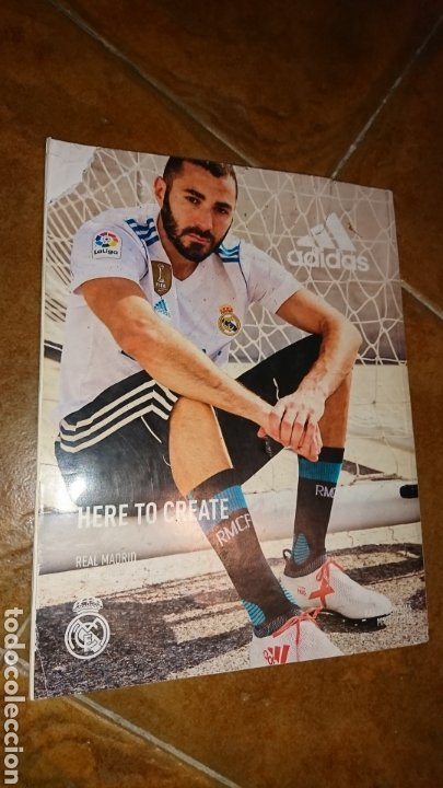 Coleccionismo deportivo: Super póster de 835x59cm,y revistade fútbol real Madrid, campeones mundial de clubes 2017 - Foto 7 - 222380552