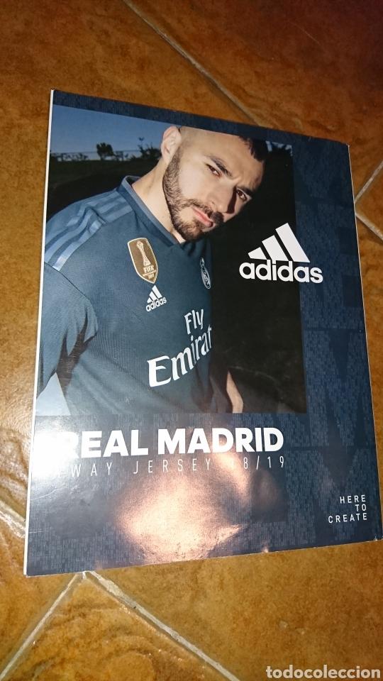 Coleccionismo deportivo: Super poster de 835x59cm y revista,de fútbol real Madrid, campeones liga 2017/18 - Foto 6 - 222381368