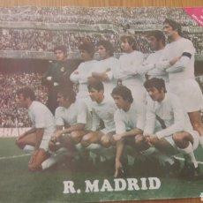 Coleccionismo deportivo: POSTER DEL MADRID AÑOS 70-TOSTADERO JEM-SOLLANA. Lote 222865766