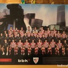 Coleccionismo deportivo: PÓSTER ATHLETIC CLUB DE BILBAO AÑO 2011-12. Lote 222913785