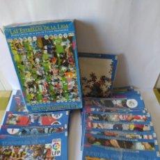 Coleccionismo deportivo: 18 PUZZLES DE LAS ESTRELLAS DE LA LIGA 98/99. Lote 223037303