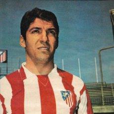 Coleccionismo deportivo: ATLÉTICO DE MADRID: POSTER DE ENRIQUE COLLAR. 1969. Lote 223124025