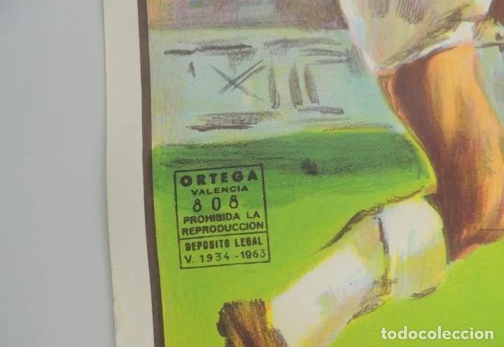Coleccionismo deportivo: ANTIGUO Cartel original año 1984 = ROMA VS U.D.C. VILLALBA= EXCELENTEESTADO DIMENSIONES: 96 X 54 CM. - Foto 2 - 224240145