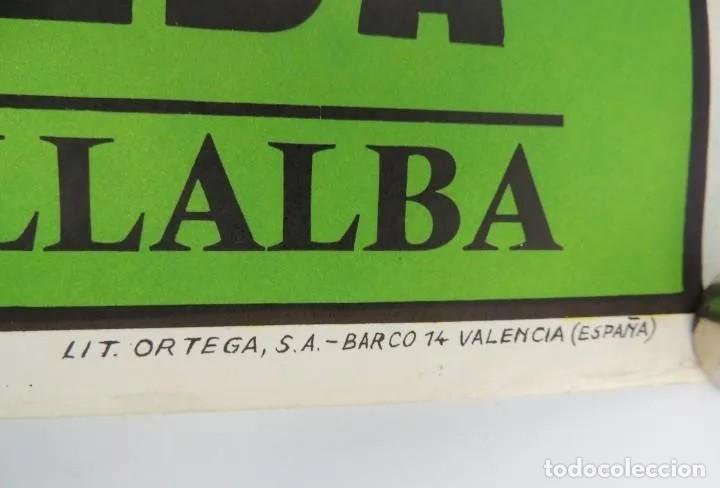 Coleccionismo deportivo: ANTIGUO Cartel original año 1984 = ROMA VS U.D.C. VILLALBA= EXCELENTEESTADO DIMENSIONES: 96 X 54 CM. - Foto 3 - 224240145