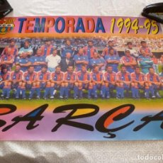 Coleccionismo deportivo: (ABJ-LLL) POSTER-(68 X 48 ) F.C.BARCELONA TEMP. 94-95 JOHAN CRUYFF BARÇA. Lote 225793770