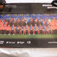 Coleccionismo deportivo: (ABJ-LLL) POSTER-(68 X 47 ) F.C.BARCELONA TEMPORADA 2008-2009 MESSI BARÇA. Lote 225795696
