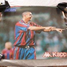 Coleccionismo deportivo: (ABJ-LLL) POSTER-(58 X 49 ) F.C.BARCELONA RONALDO BARÇA KAPPA. Lote 225797773