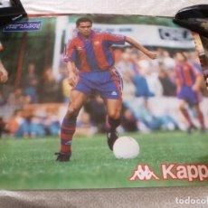 Coleccionismo deportivo: (ABJ-LLL) POSTER-(58 X 49 ) F.C.BARCELONA GIOVANNI BARÇA KAPPA. Lote 225797935