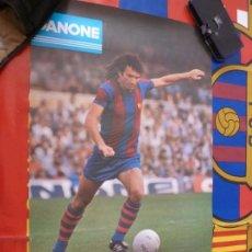 Coleccionismo deportivo: (ABJ-LLL) POSTER-(60 X 37 ) F.C.BARCELONA RAMOS BARÇA DANONE Y ESTRELLA DAMM. Lote 225802075