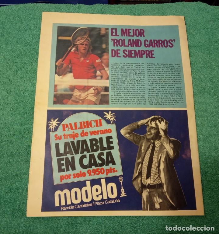 Coleccionismo deportivo: -POSTER DE FUTBOL DEL ESPAÑOL DE BARCELONA 1980-1981 FERRETERIA MORA - Foto 6 - 226154078