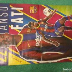 Coleccionismo deportivo: -POSTER DE FUTBOL DE ANSU FATI ( BARCELONA ). Lote 226154380