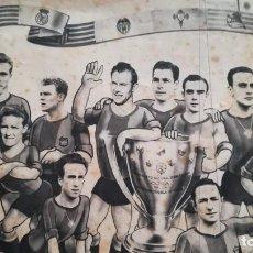 Coleccionismo deportivo: BARCELONA C.F. CAMPEÓN DE LIGA 1951-1952 RECUERDO DE LICOR 43 MUY RARO. Lote 226896840