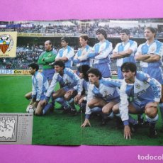 Coleccionismo deportivo: POSTER CE SABADELL 86 87 - REVISTA MARCA SUPERCOLOR - LIGA TEMPORADA 1986/1987. Lote 229957940