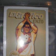 Coleccionismo deportivo: LÁMINA EL GRÁFICO ARGENTINA A ENZO FRANCESCOLI RIVER PLATE. Lote 230032055