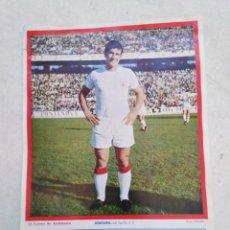 Coleccionismo deportivo: BERGARA DEL SEVILLA C.F, CARTEL ( 32.50 X 22.50 ). Lote 230932085