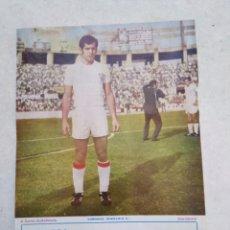 Coleccionismo deportivo: TOÑANES DEL SEVILLA C.F, CARTEL ( 32.50 X 22.50 ). Lote 230933270