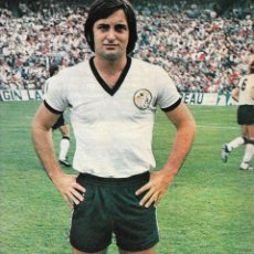 Coleccionismo deportivo: UD.SALAMANCA: PÓSTER DE AMEIJENDA. 1975. Lote 231660680