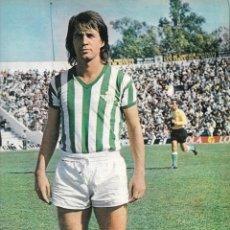 Coleccionismo deportivo: REAL BETIS BALOMPIÉ: PÓSTER DE ANZARDA. 1975. Lote 231660935
