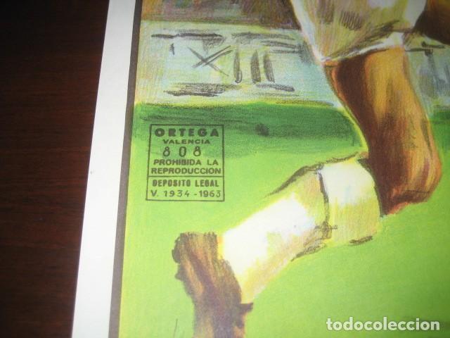 Coleccionismo deportivo: CARTEL POSTER FUTBOL MUNDIAL ESPAÑA 1982. INGLATERRA - ALEMANIA. ESTADIO SANTIAGO BERNABEU, MADRID - Foto 6 - 233034140