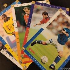Coleccionismo deportivo: LOTE DE 6 LÁMINAS DEL MUNDIAL DE FRANCIA 98 - SPORT. Lote 233785275