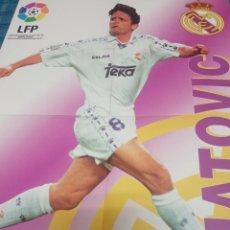 Coleccionismo deportivo: POSTER DE MIJATOVIC VIDAL GOLOSINAS LFP 96-97. Lote 235143085