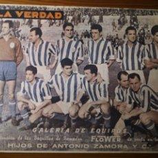Coleccionismo deportivo: REAL SOCIEDAD SAN SEBASTIÁN, GALERÍA DE EQUIPOS, LA VERDAD, 1955. Lote 235195230