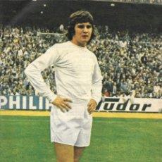 Coleccionismo deportivo: REAL MADRID: PÓSTER DE CAMACHO. 1975. Lote 236625155