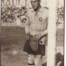 Coleccionismo deportivo: RECORTE DE RICARDO ZAMORA YA VETERANO.. Lote 237071230