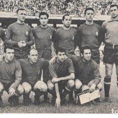 Coleccionismo deportivo: SELECCIÓN ESPAÑOLA DE FÚTBOL: RECORTE DE UN EQUIPO DE 1961. ESPAÑA 2-ARGENTINA 0. Lote 237071710