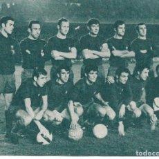 Coleccionismo deportivo: BARÇA: RECORTE DE UN EQUIPO DE 1960. BARÇA 1-INTER 2. COPA DE FERIAS.. Lote 237073555