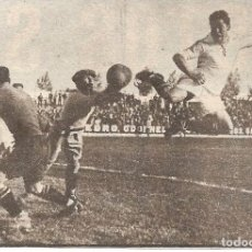 Coleccionismo deportivo: REAL MADRID: RECORTE DE GASPAR RUBIO EN ACCIÓN.. Lote 237073970