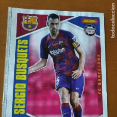 Coleccionismo deportivo: POSTER DOBLE BUSQUETS - BARCELONA Y ATHLETIC BILBAO - GOLY. Lote 237502085