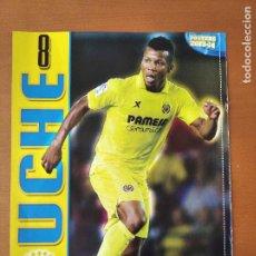 Coleccionismo deportivo: POSTER DOBLE UCHE - VILLARREAL Y LEVANTE - GOLY. Lote 237515115