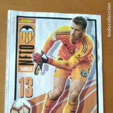 Coleccionismo deportivo: POSTER DOBLE NETO - VALENCIA Y LEGANES - GOLY. Lote 237516765