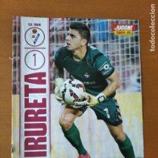 Coleccionismo deportivo: POSTER DOBLE IRURETA - EIBAR Y ALMERIA - GOLY. Lote 237517430