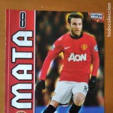 Coleccionismo deportivo: POSTER DOBLE MATA - MANCHESTER UNITED Y ALMERIA - GOLY. Lote 237517515
