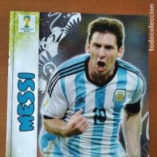 Coleccionismo deportivo: POSTER DOBLE MESSI - ARGENTINA Y ROBBEN - HOLANDA - GOLY. Lote 237517865