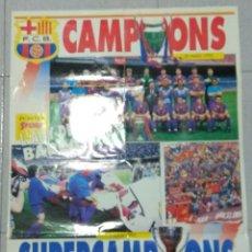 Coleccionismo deportivo: POSTER F.C.BARCELONA. CAMPIONS 20/05/1992. Lote 237578170