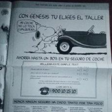 Coleccionismo deportivo: POSTER REAL MADRID 96/97 MARCA EDICIÓN LA SEPTIMA ROBERTO CARLOS. Lote 238643185