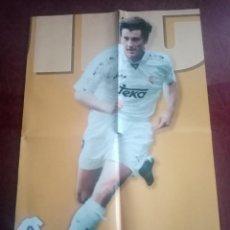 Coleccionismo deportivo: POSTER REAL MADRID 96/97 MARCA EDICIÓN LA SEPTIMA DAVOR SUKER. Lote 238648145