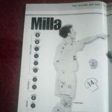 Coleccionismo deportivo: POSTER REAL MADRID 96/97 MARCA EDICIÓN LA SEPTIMA FERNANDO REDONDO. Lote 238648520