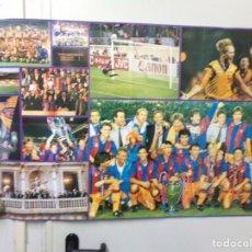 Coleccionismo deportivo: GRAN POSTER FUTBOL CLUB BARCELONA ¡HOLA!. Lote 240911720