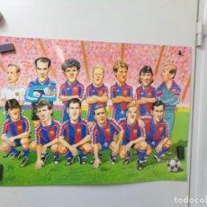Coleccionismo deportivo: POSTER FUTBOL CLUB BARCELONA. Lote 241992475